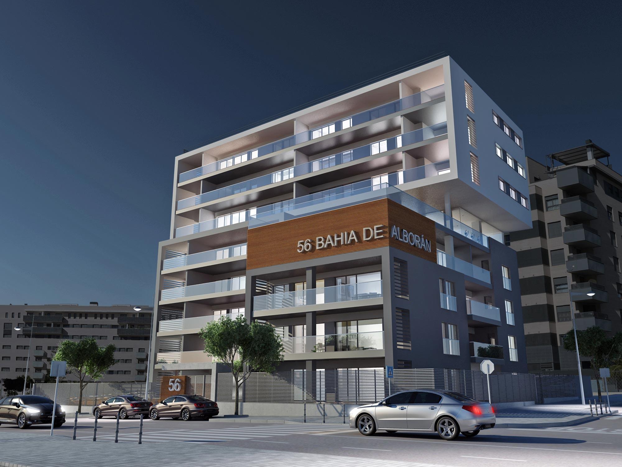 Edificio Residencial Bahía de Alborán